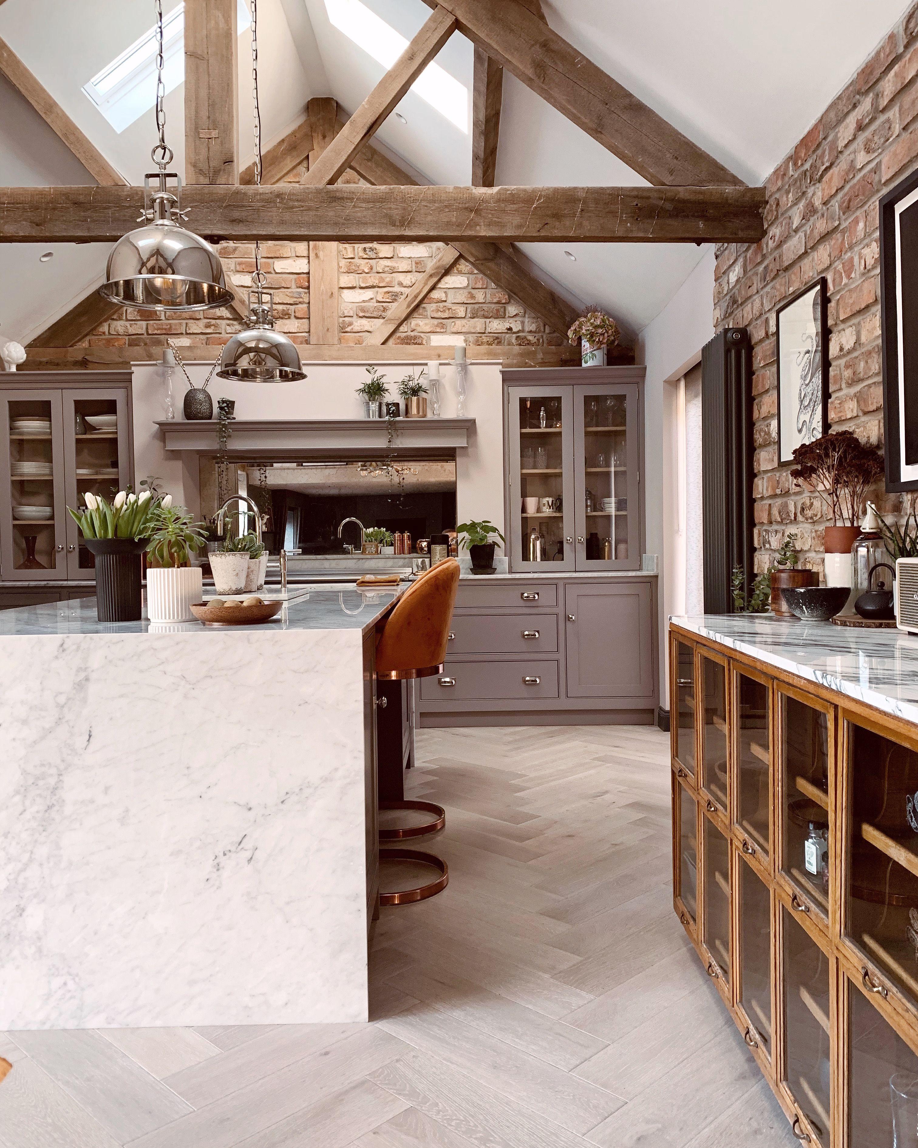 Kitchen Ideas Inspo Grey Kitchen Barn Conversion Barn Conversion Interiors Barn Conversion Barn Conversion Kitchen