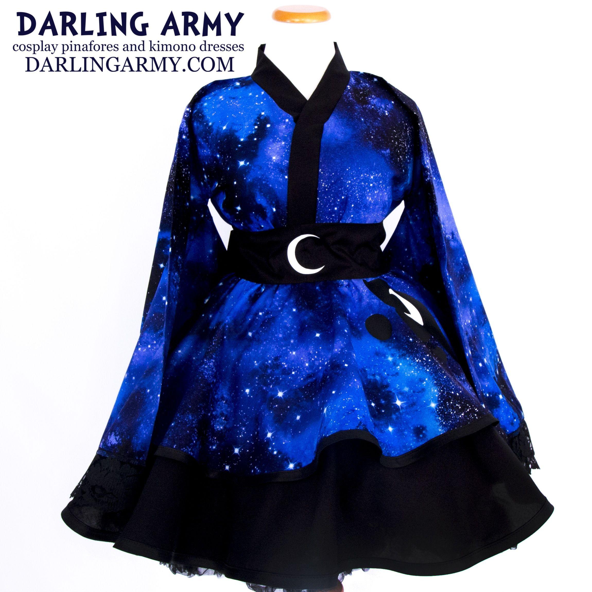 best authentic 26cd7 50aee Galaxy Lunar Princess Cosplay Kimono Dress