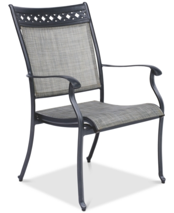Furniture Vintage Ii Outdoor Sling Dining Chair Created For