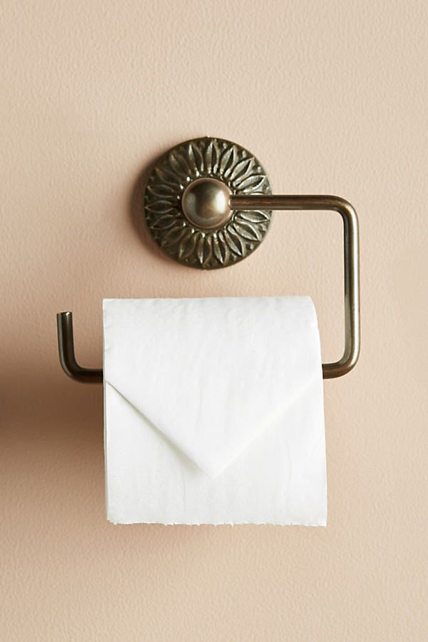 Floral Imprint Toilet Paper Holder Toilet Paper Holder Toilet Paper Toilet