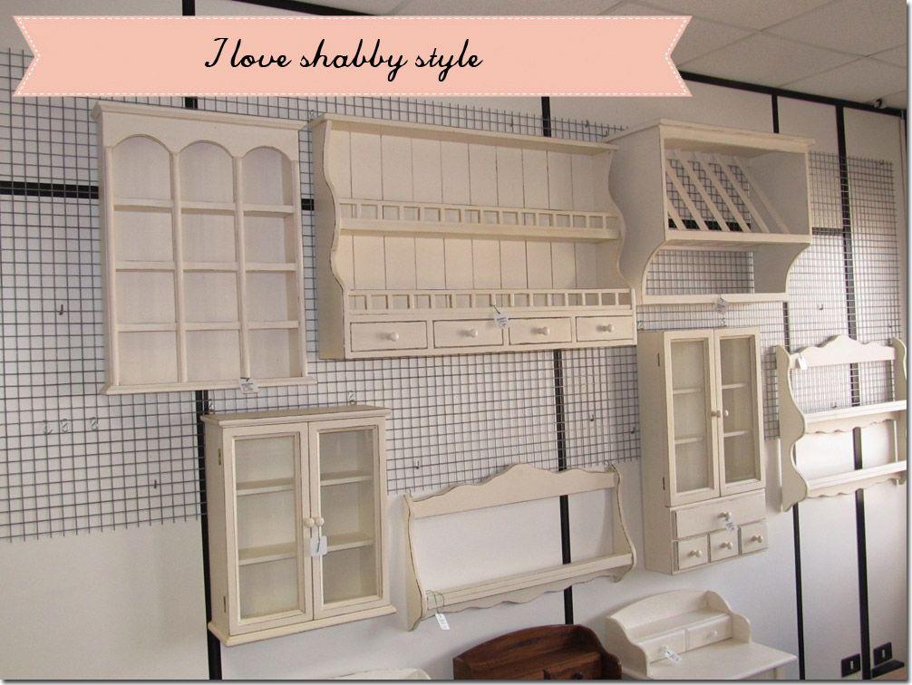 Credenza Con Piattaia Shabby : Shabby chic interiors una piattaia tanti stili dreaming house