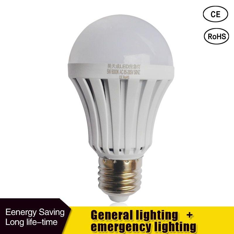 Comprar Led Bombilla Inteligente E27 5 W 7 W 9 W Luz De Emergencia