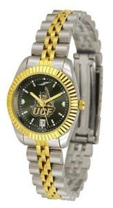 Central Florida Golden Knights UCF NCAA Womens Anochrome Gold Watch SunTime. $141.95