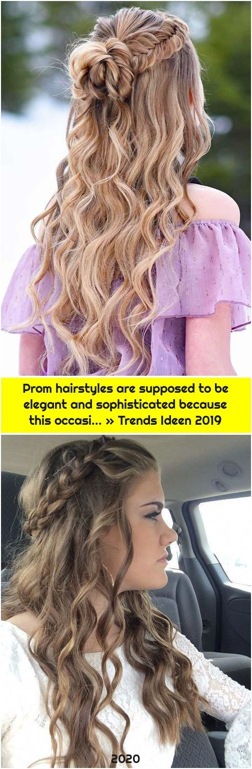 Prom hairstyles are supposed to be elegant and sophisticated because this occasi... » Trends I