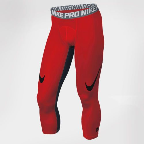 Details about New Men's Nike Pro Cool Compression Football Tights ...