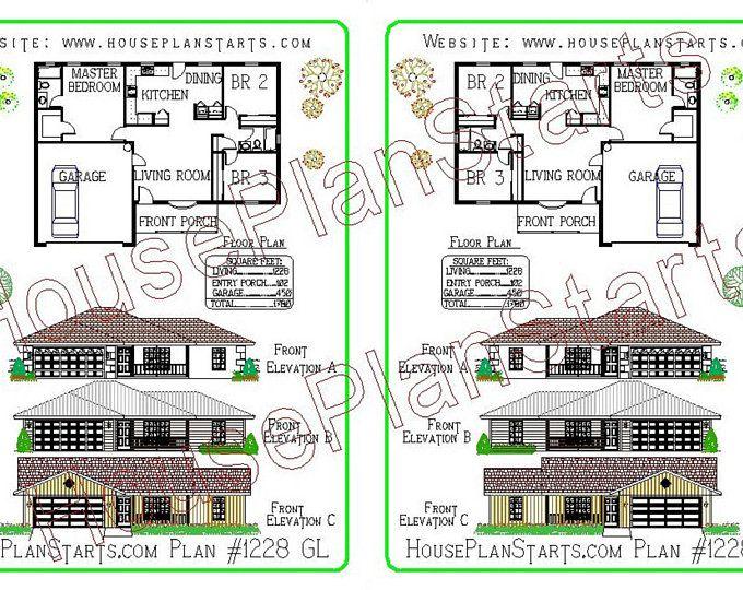 New Modern Home Plan 267.5 m2 or 2873 Sq. Feet 4 Bedroom