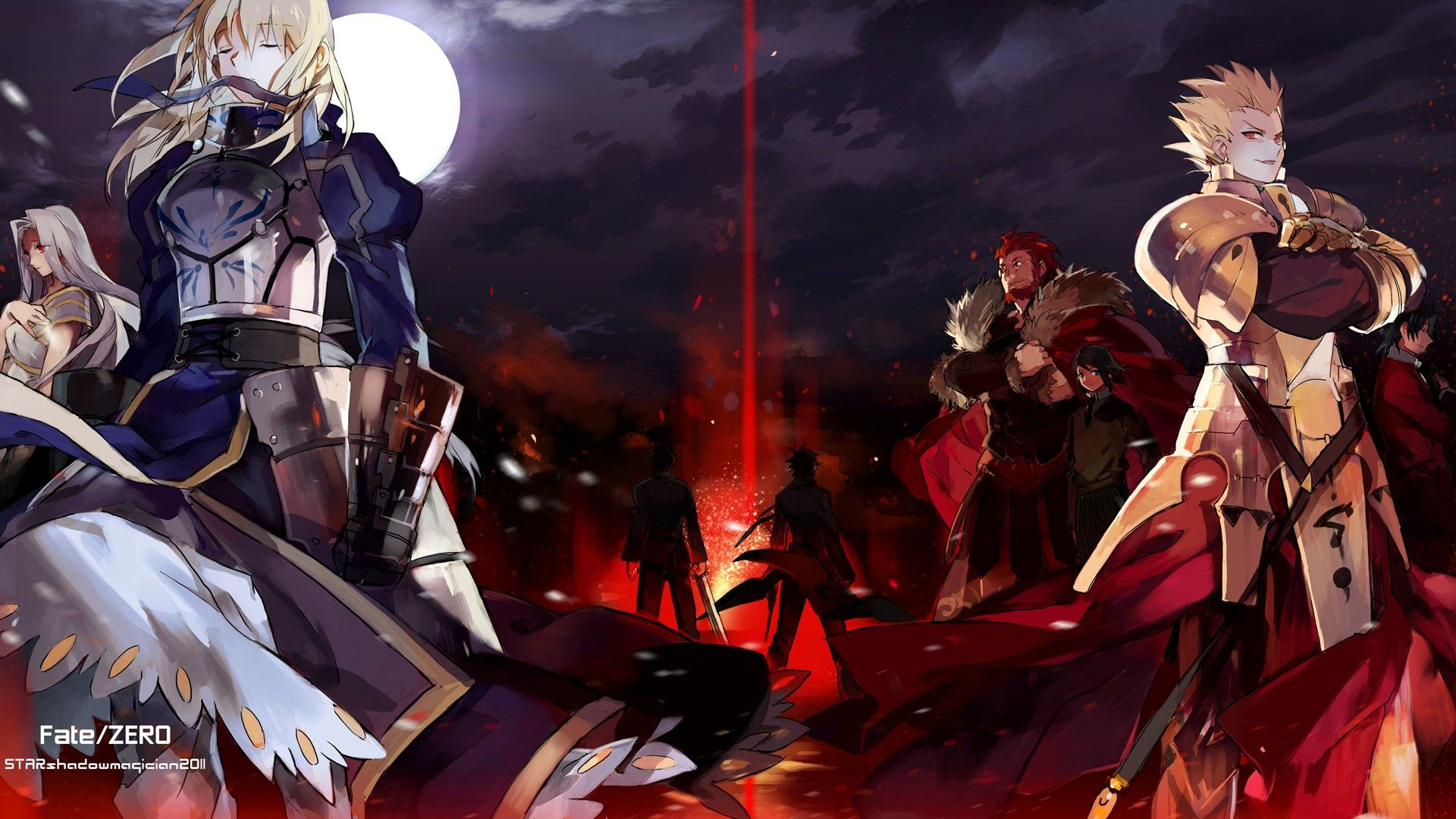 Fate Stay Night Fate Zero Fatestay Night Y Zero Wallpaper
