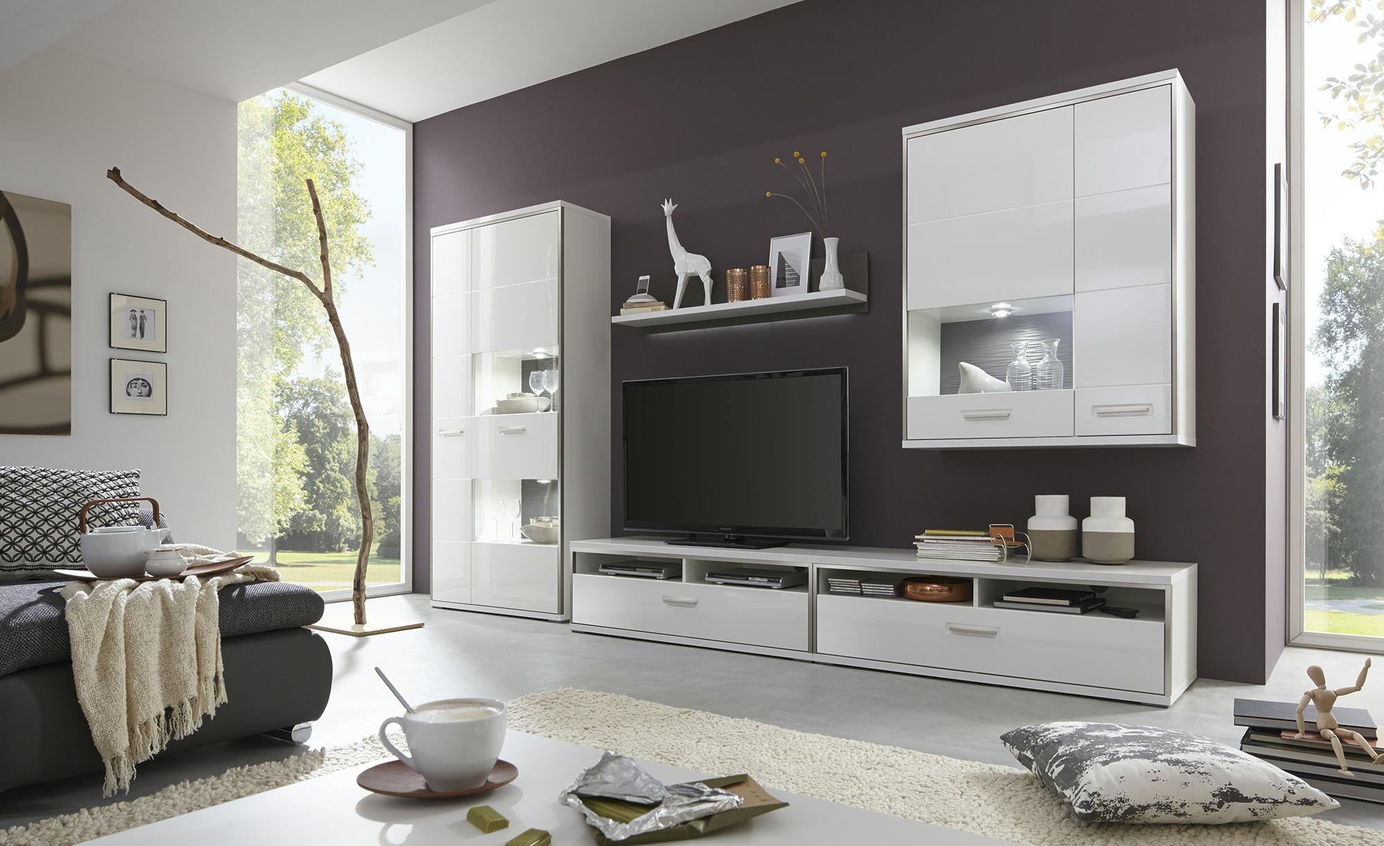 Uno Wohnwand Setto Gefunden Bei Mobel Hoffner Wohnzimmerschranke Wohnwand Modern Und Anbauwand Wohnzimmer