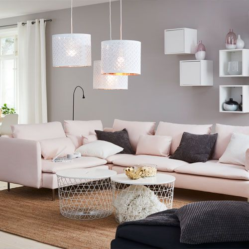 SÖDERHAMN Canapé Tissu Modulable IKEA Deco Maison Pinterest - Canapé ikea tissu