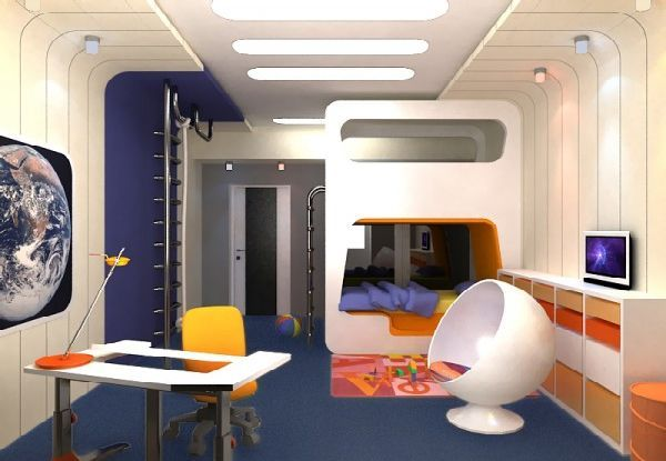modern and futuristic kids bedroom styled furturistic kids bedroom rh pinterest com