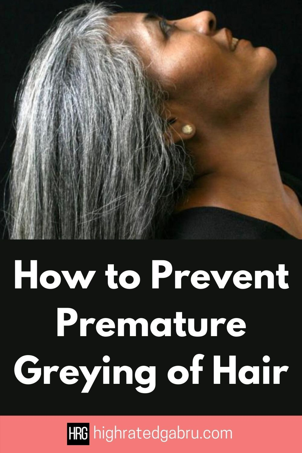 how to stop premature gray hair