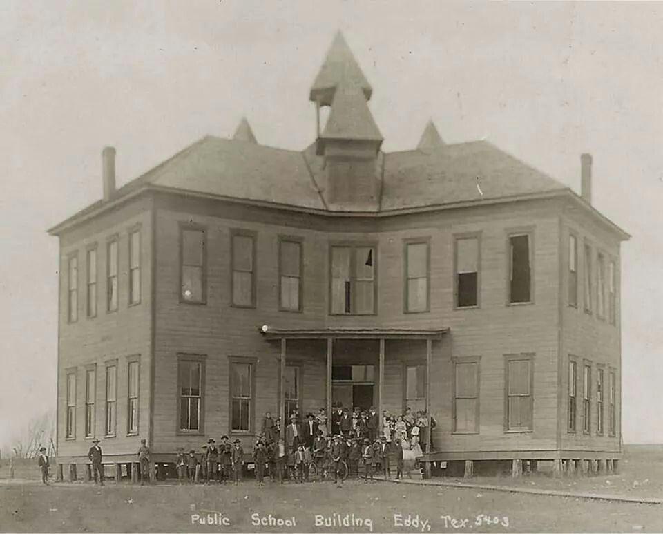 Eddy, Texas Texas history, Public school, Building