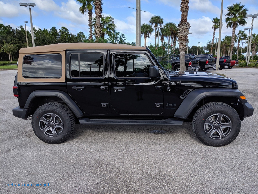 Electric Jeep Wrangler Luxury New 2020 Jeep Wrangler Unlimited Black And Tan 4 4 4wd Suv Jeep Wrangler Jeep Wrangler Unlimited Jeep