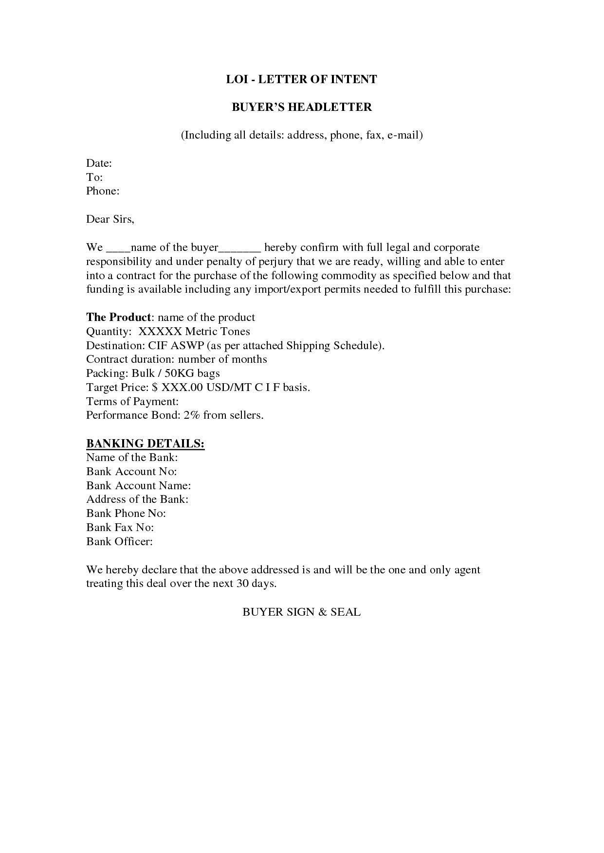 bank letterhead format
