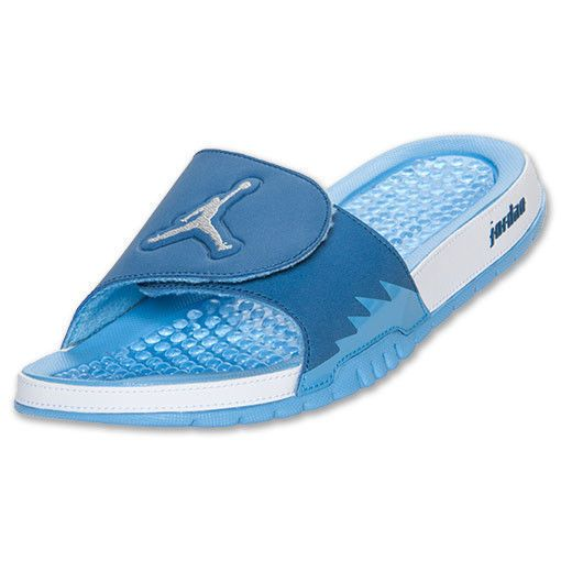 5b067132fa5594 Nike Air Jordan Hydro V Retro Slide Sandals Light Blue White 555501-407  Size 11