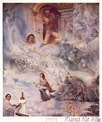 Salvador Dalí - Oekumenisches Konzil