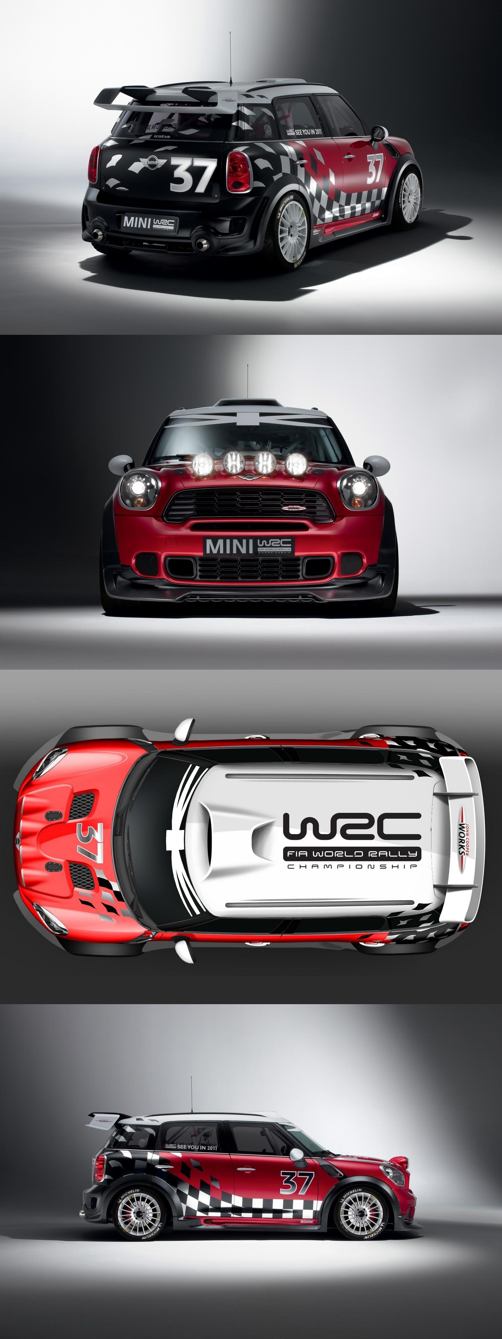 Mini Cooper CountryMan WRC