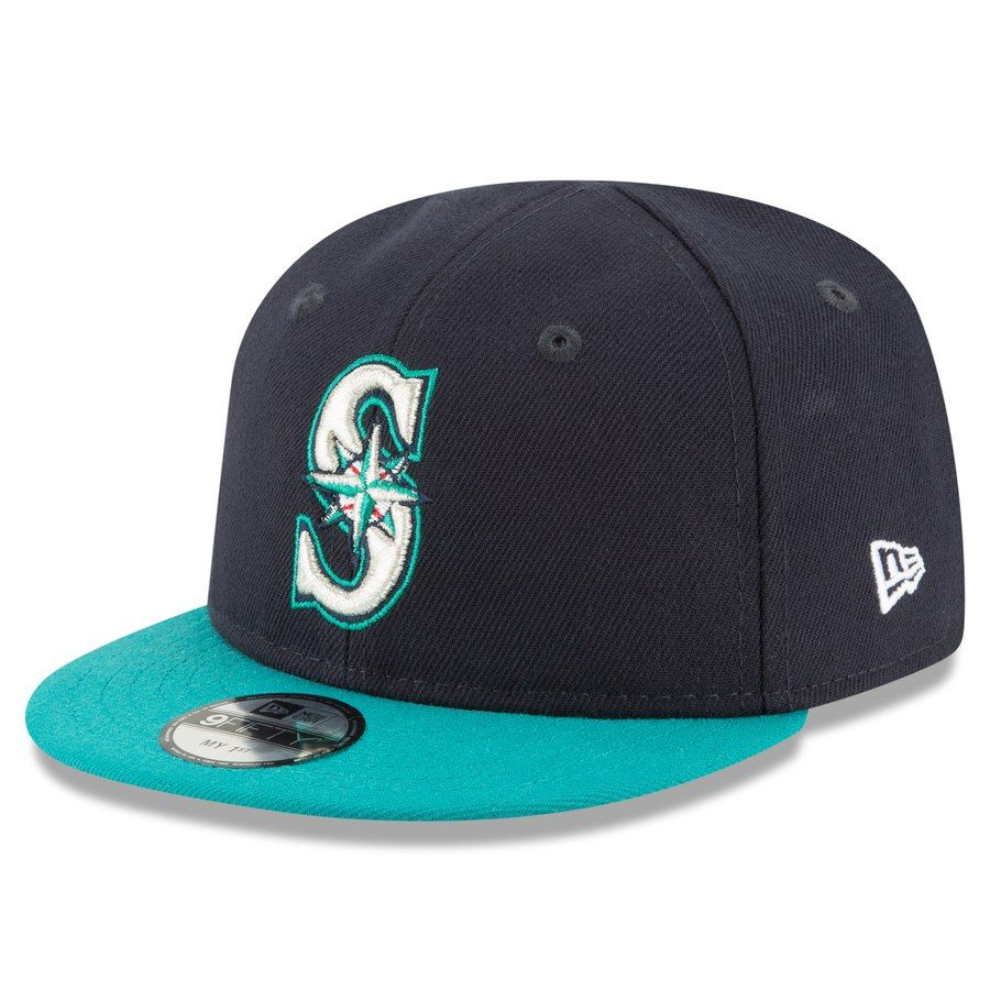 newest collection get cheap sneakers for cheap Infant Seattle Mariners New Era Navy My First 9FIFTY Adjustable ...