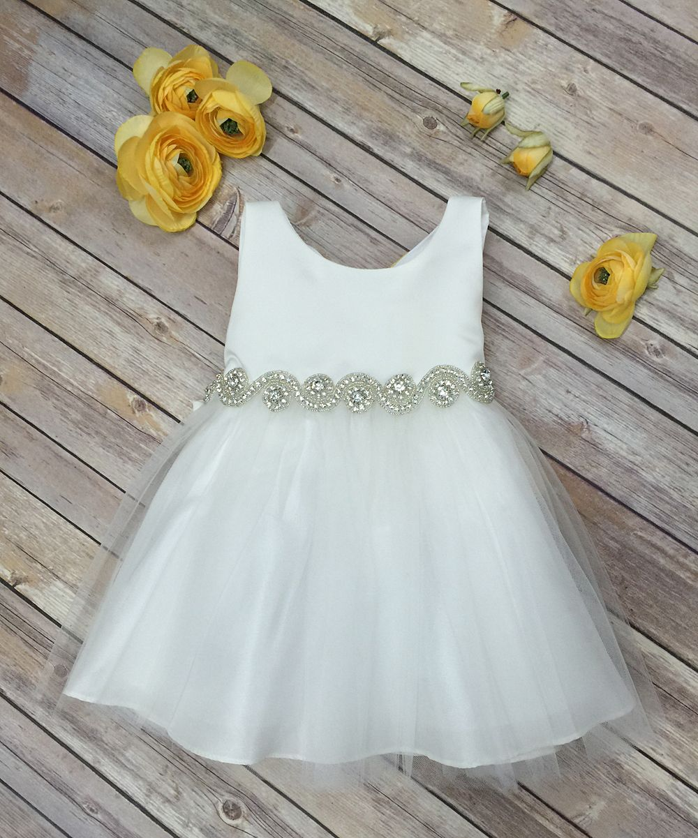 Ivory Tulle A-Line Dress - Infant | Products | Pinterest | Products