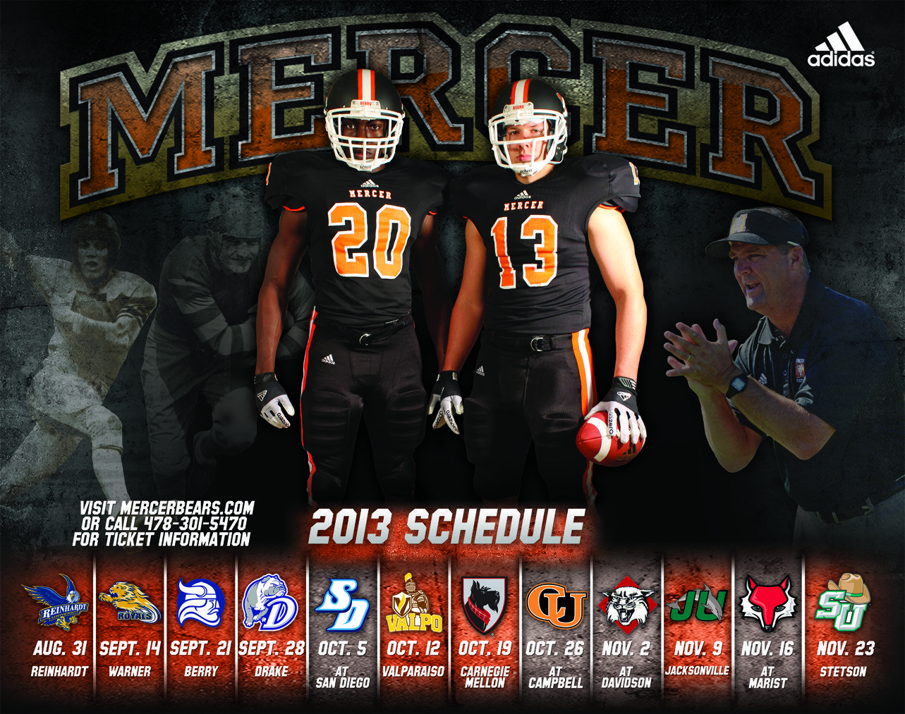 The 2013 Mercer Football Schedule Mercer University Mercer