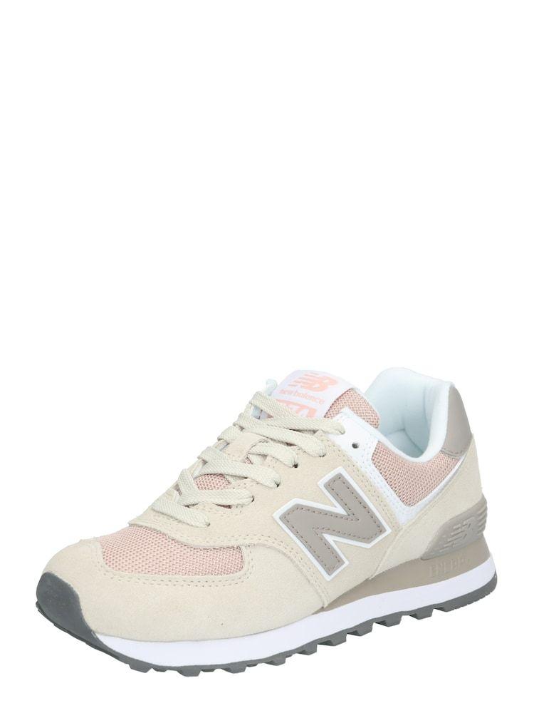 New Balance Sneaker Wl574wn Damen Rosa Beige Grau Grosse 37 5 Rosa Leder New Balance Und Damen