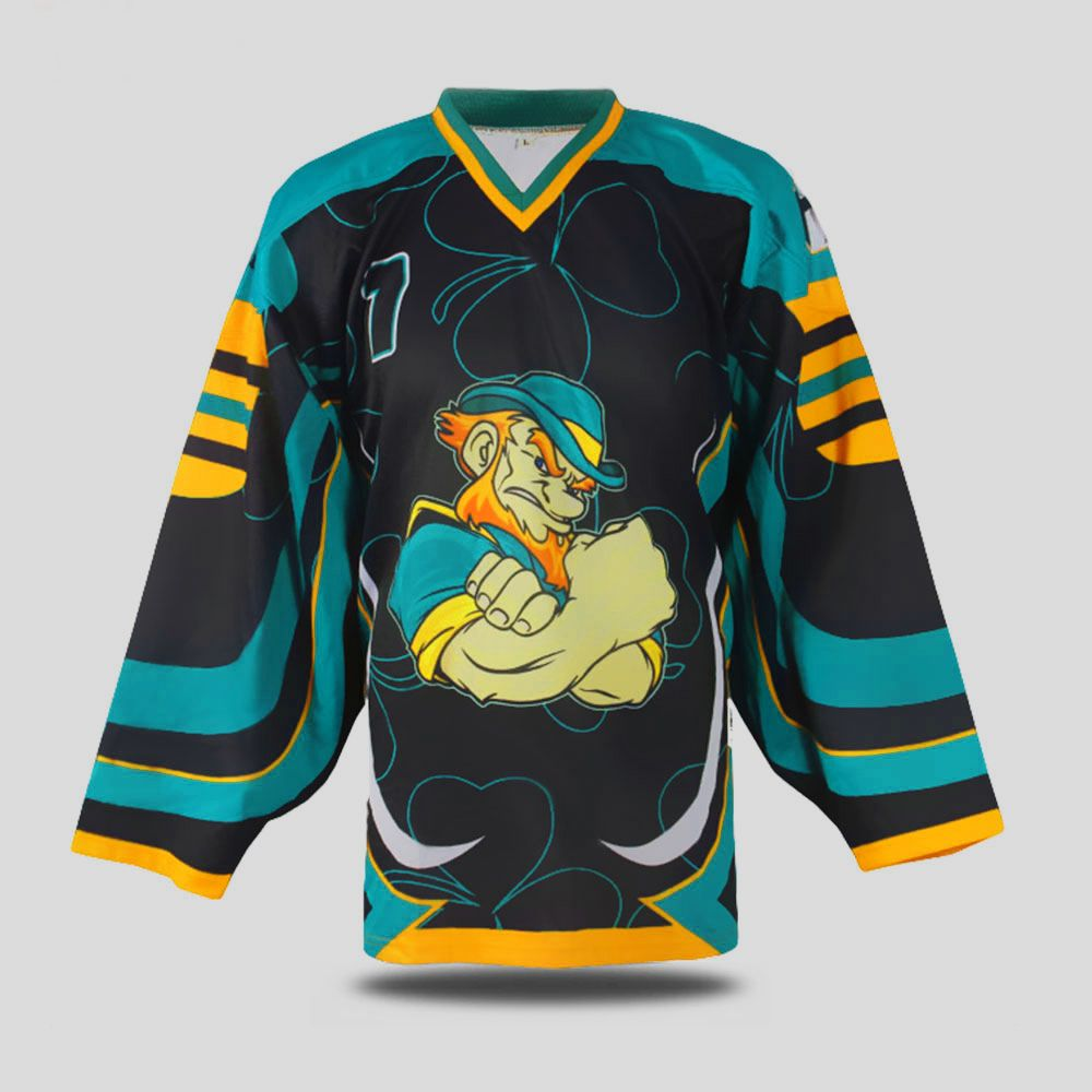 Sublimation Ice Hockey Jersey Manufacturers In Pakistan Falke Sports Custom Design Ice Hockey Jersey Manufactur Custom Sportswear Custom Soccer Sports Uniforms