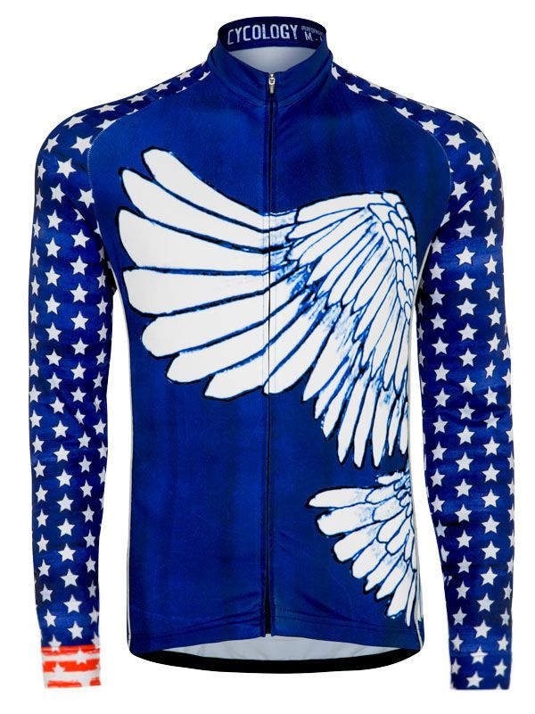 8b3162e9c Vintage Americano Men s Long Sleeve jersey from Cycology.  cycology ...