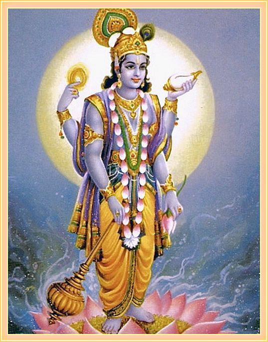 Lord Vishnu Is An Expansion Of The Original Personality Of Godhead