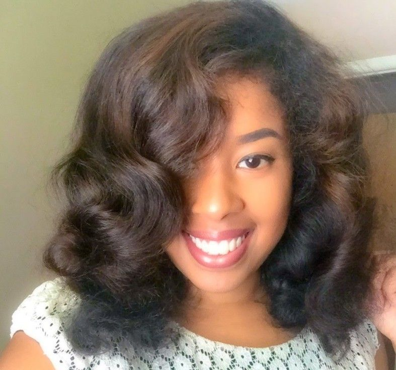 Try This Heatless Roller Set That Can Last Two Weeks Natural Hair