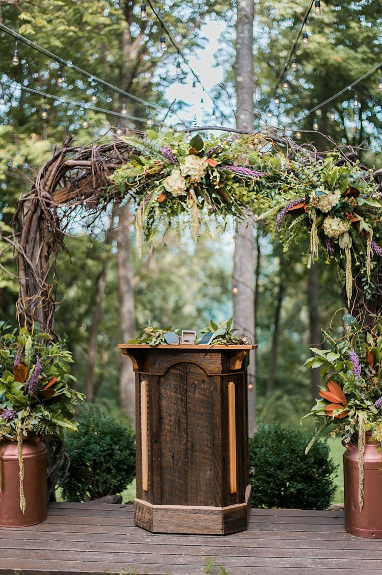 Whimsical Barn Wedding in the Ohio Woods   Wedding in the ...