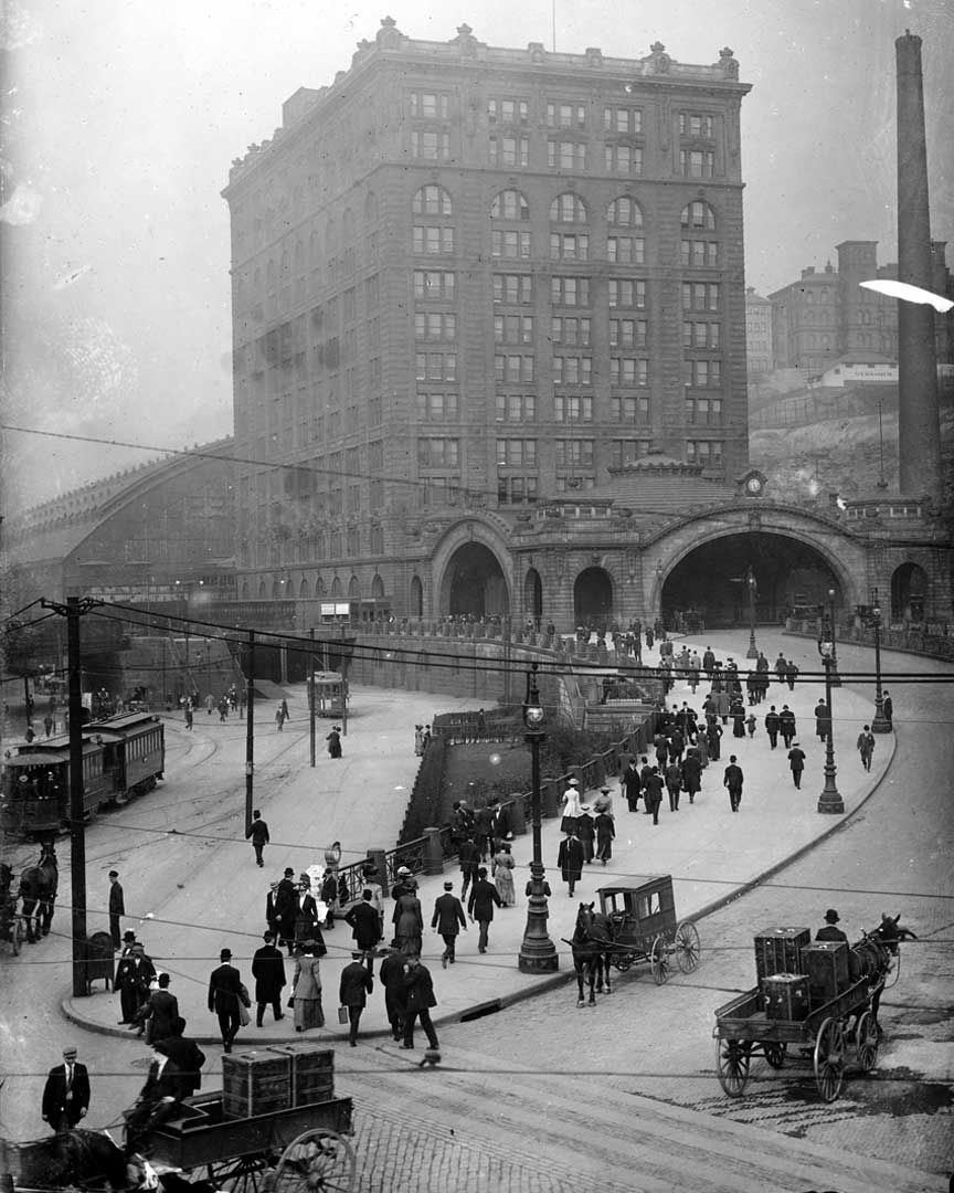Pittsburgh S Penn Station Circa 1903 The Station Is Known