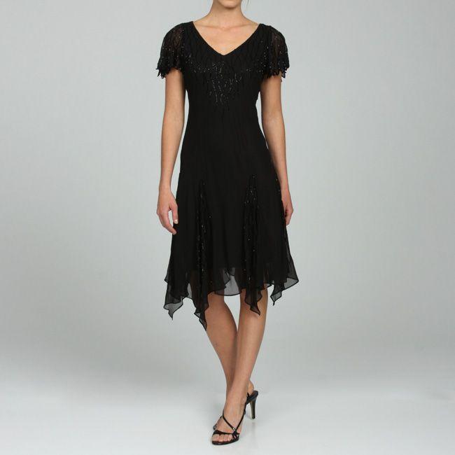 Handkerchief Hem Prom Dress