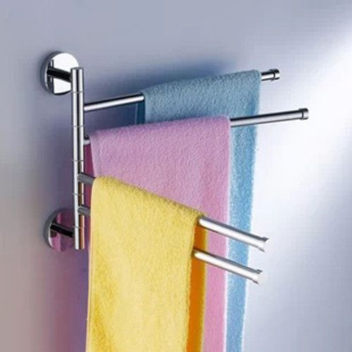 Free Shipping Becola Bathroom Accessories Stainless Steel Surface Towel Bars Br 88003