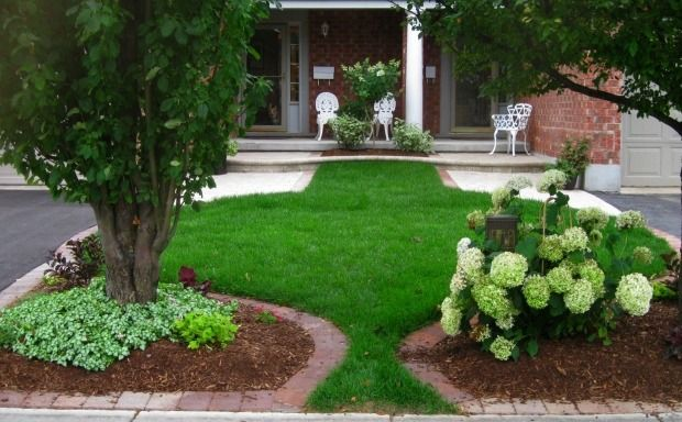 zierrasen pflegen-mähen ideen für vorgarten-gestaltung | like, Garten und bauen