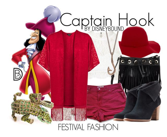 Captain Hook by leslieakay on Polyvore featuring polyvore, fashion, style, Topshop, UGG Australia, Deux Lux, We Are All Smith, Warehouse and clothing