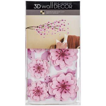 Cherry Blossom 3d Vinyl Wall Decor Hobby Lobby 1219807 Cherry Blossom Decor Cherry Blossom Nursery Adhesive Wall Art