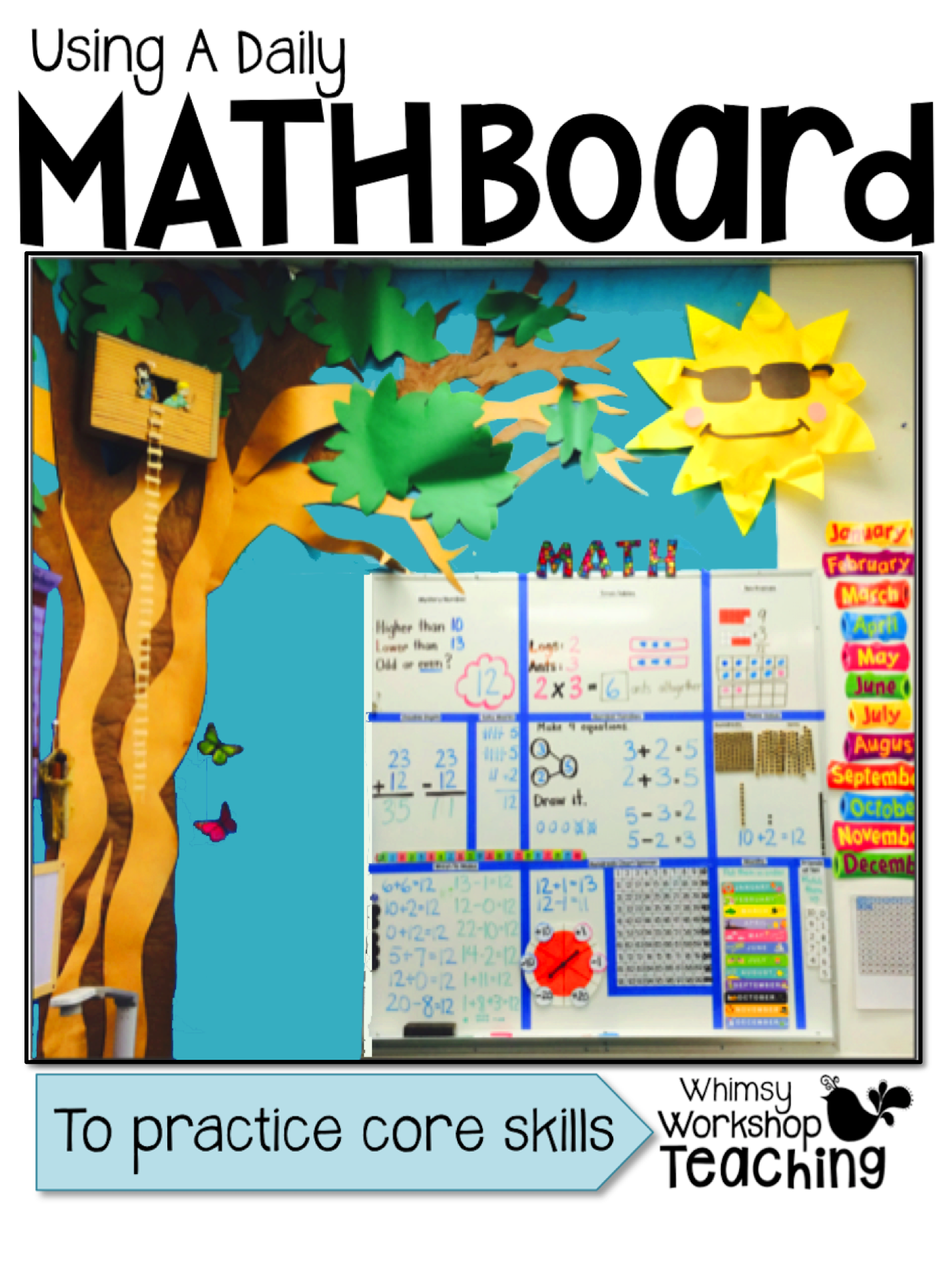 Using a Daily Math Board to Practice Core Skills: Guest post by ...