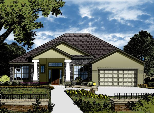The Devon Collection 8933 4 Bedrooms And 2 5 Baths The House Designers Modern Contemporary House Plans Contemporary House Plans House Plans
