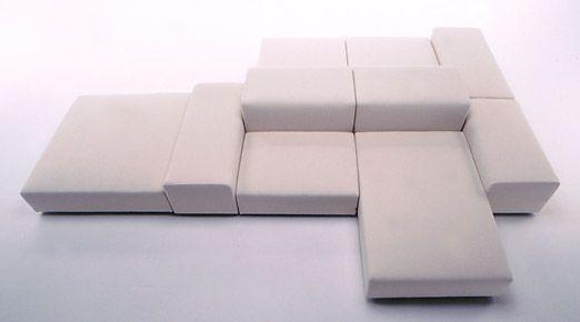 Piero Lissoni Extra Wall For Living Divani Lobby Furniture Sofa Bench