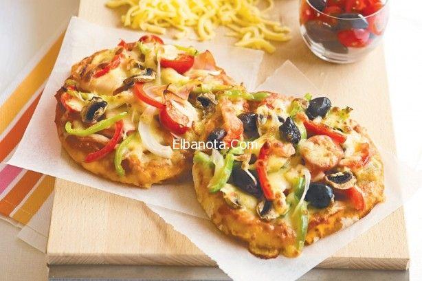 بيتزا الخبز اللبنانى بيتزا دجاج بالخبز اللبنانى سهلة اكلات شهية مطبخ بنوته عالم المرأة بنوته كافيه Pita Bread Pizza Bread Pita Bread Pizza
