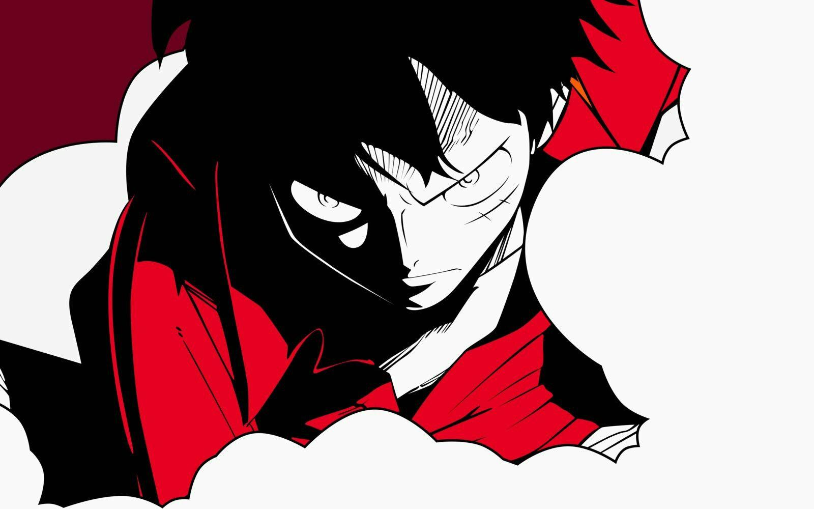 Monkey D Luffy Angry One Piece Dibujos Days Anime Y Yugi