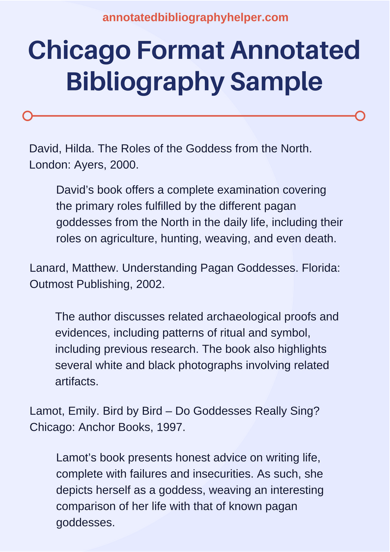 bibliography in chicago style