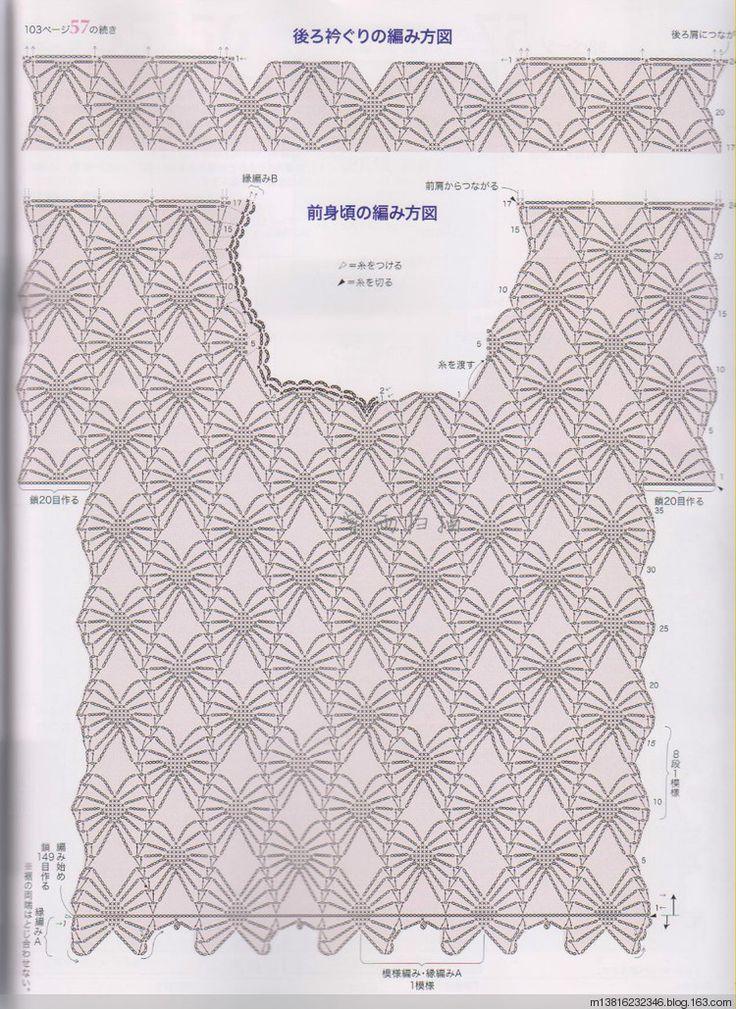 Πλεκτες Ιδεες-Crochet Ideas: crochet pattern shirt summer-πλεκτη ...