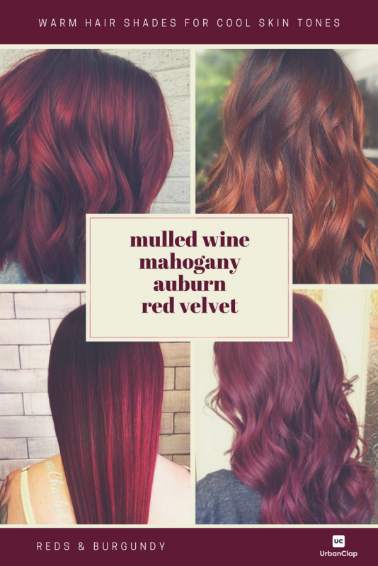 How To Choose The Best Hair Colour From Hair Colour Charts Warm Hair Color Hair Color Burgundy Red Hair Color Shades,Bathroom Sink Backsplashes