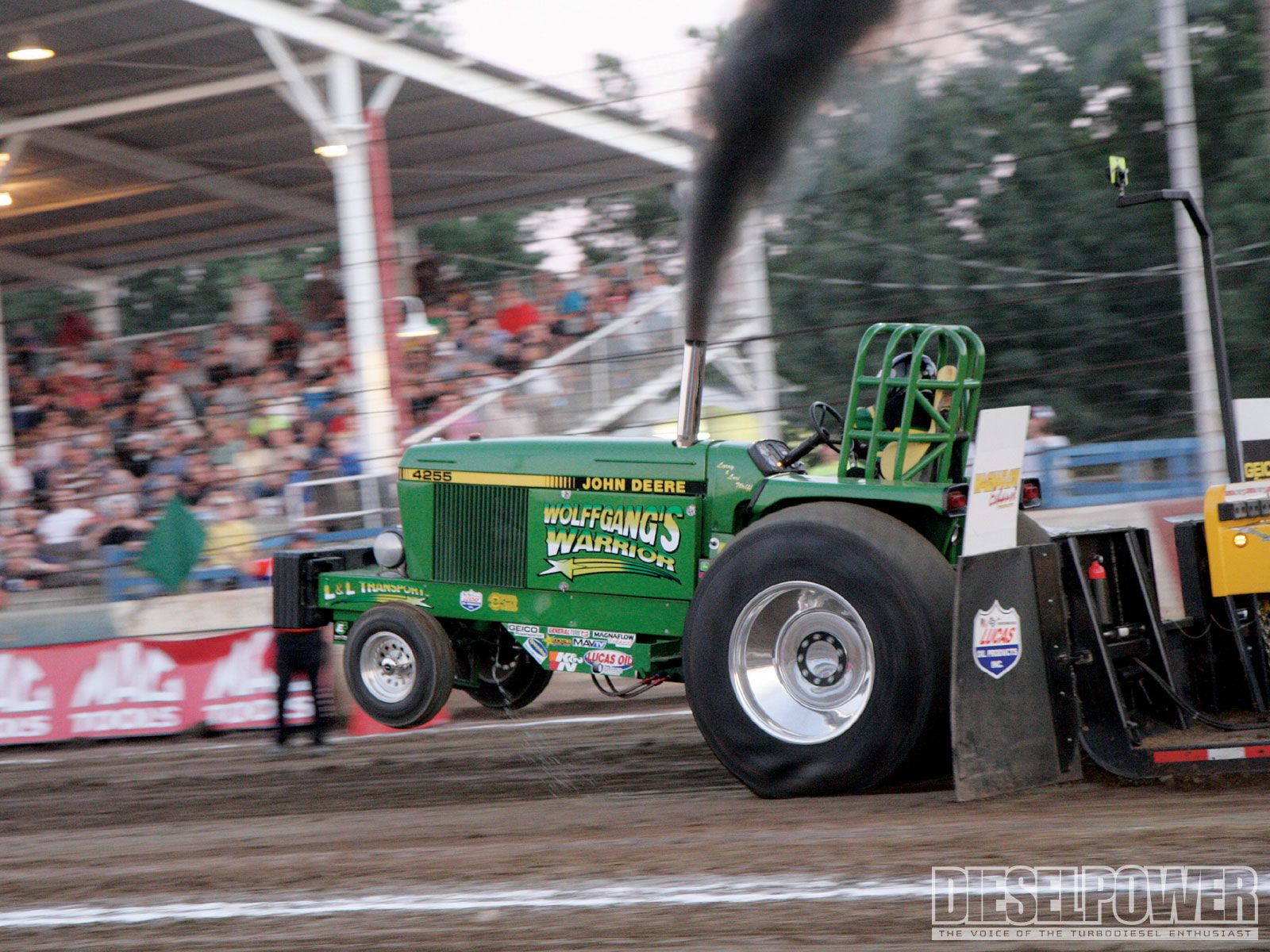Picture Gallery A John Deere Tractor Pull Extravaganza