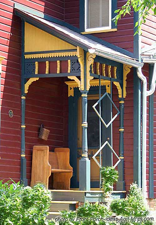 Small Porch Designs Can Have Massive Appeal #smallporchdecorating