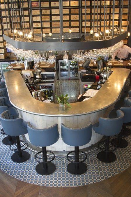 Pin by Dawnvale – Restaurant + Bar – Design + Build on Bar tops for ...