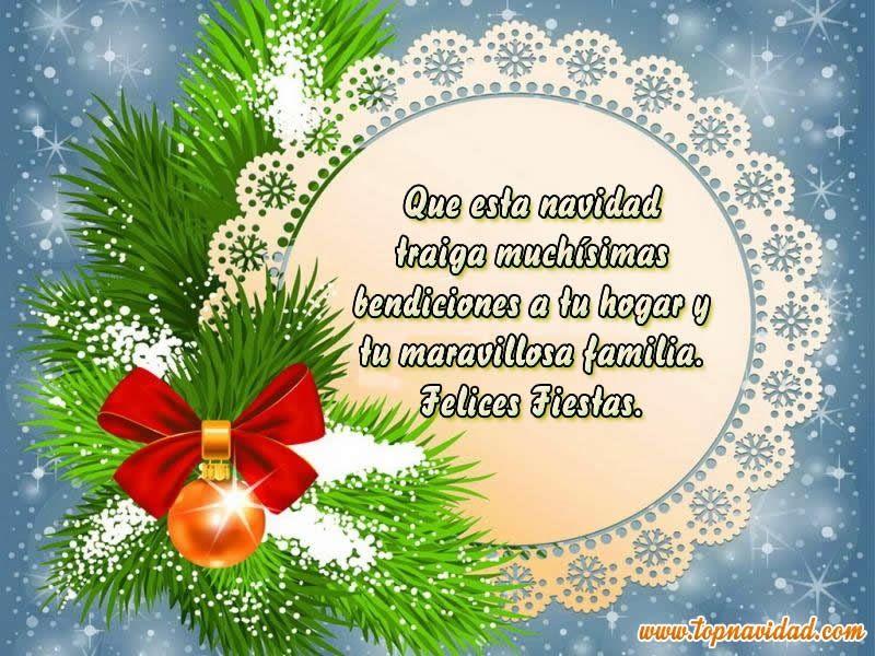 Frases para felicitar navidad cortas