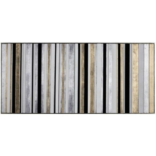 Between The Lines (£190) ❤ liked on Polyvore featuring home, home decor, wall art, art, art by type, wood home decor, metallic wall art, wood wall art, wooden home decor and wooden wall art