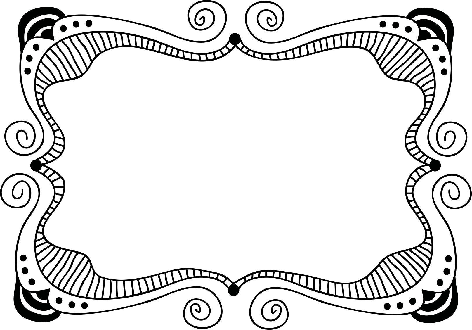 画像サンプル-手書き風・ポップフレーム | favorite | frame